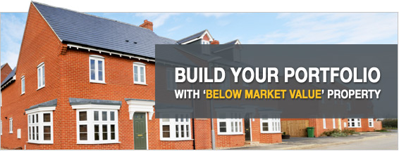 build your BMV property portfolio with below market value property